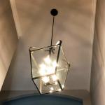 Ceiling light fixture.