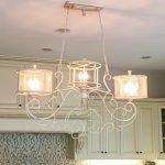 Kitchen light fixture.